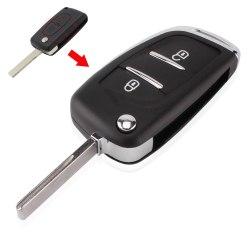 Выкидной ключ Peugeot 207 307 308 407 ХРОМ