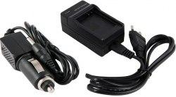 Комплект сетевое + автомобильное зарядное устройство Canon LC-E8 / LC-E8E / LC-E8C для LP-E8 550D, 600D, 650D, 700D, Kiss X4, Kiss X5, Kiss X6, Rebel T2i, Rebel T3i, Rebel T4i, Rebel T5i