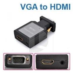 Переходник vga hdmi, конвертер, адаптер (от VGA на HDMI)