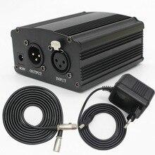 Фантомное питание 48v для микрофона BM800 и других