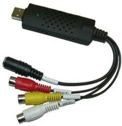Преобразователь аналогового видео в цифровое EasyCAP - видеозахват, оцифровщик