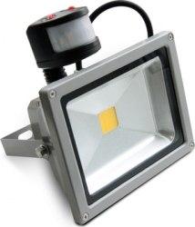 LED прожектор IP65 20W 220V с датчиком движения