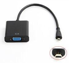 Конвертер Micro hdmi vga, переходник микро microHDMI to VGA (от microHDMI на VGA)