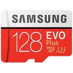 Карта памяти Samsung microSDXC EVO Plus 128GB