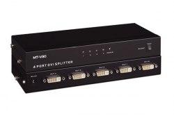 Разветвитель DVI (DVI-D) 1x4 (DVI на 4 порта)
