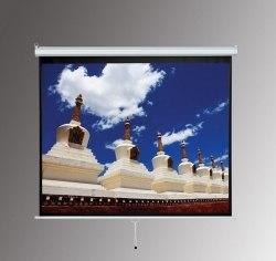 """Экран для проектора 100"""" дюймов 4:3 белый, матовый 211*184 см"""