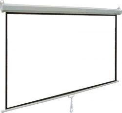 """Экран для проектора 120"""" дюймов 16:9 белый, матовый 266x150 см"""