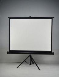 """Экран для проектора 70"""" дюймов белый, матовый 178*178 см на штативе треноге"""