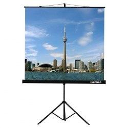 """Экран для проектора 100""""(4:3) дюймов белый, матовый 203*152 см на штативе треноге"""