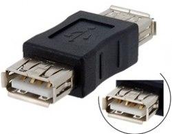 """USB """"Гнездо""""-""""Гнездо"""" мама - мама Адаптер, соединитель, удлиннитель"""