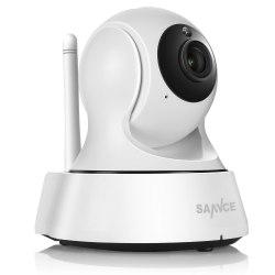 SANNCE Поворотная IP-камера Беспроводная Ip камера Видеонаблюдения Wi-Fi Камера 720 P Ночного Видения CCTV Видеоняня