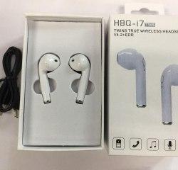 Беспроводные наушники с гарнитурой HBQ i7 TWS AirPods цвет белый