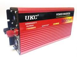 Инвертор 12-220V 3000W 12 на 220вольт 3000 Ват преобразователь напряжения