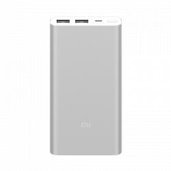 Внешний аккумулятор Xiaomi Mi Power Bank 2i 10000 mAh Silver