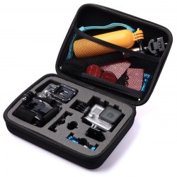 Кейс большой для камеры GoPro универсальный черный