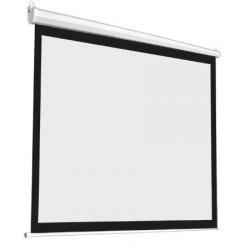 """Моторизированный экран для проектора с электроприводом 100"""" дюймов 205*154 см с пультом ДУ"""