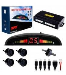 Парктроник XPX F255 черный парковочный радар, датчик парковки