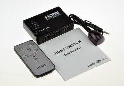 HDMI Switch 5*1 + пульт (из 5-Х HDMI в 1-HDMI)