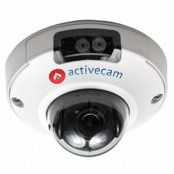 """Камера IP ActiveCam AC-D4121IR1 CMOS 1/2.8"""" 1920 x 1080 H.264 RJ-45 LAN PoE белый"""
