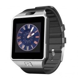 Умные часы телефон UWatch Smart Watch DZ09 в стальном корпусе (Smart Watch DZ09 Черные)