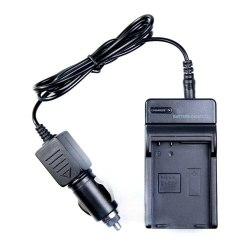 Зарядное устройство сетевое + автомобильное для EN-EL14, EN-EL14A / D3100, D3200, D3300, D5100, D5200, D5300, P7000, P7100, P7700, P7800, DF.
