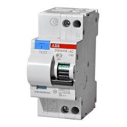 Дифференциальный автомат ABB 2-полюсный DSH941R C40 30mA тип АС 2CSR145001R1404