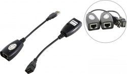Удлинитель USB-AMAF/RJ45, по витой паре UTP до 30 метров