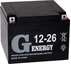 Аккумуляторная батарея G-energy 12-26