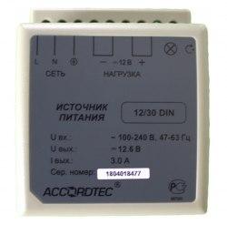 Блок питания AccordTec AT-12/30 DIN