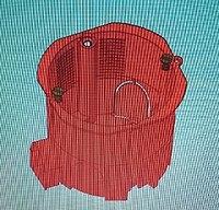 Коробка установочная КУ 1201-04 с шурупами