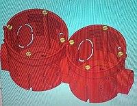 Коробка установочная КУ 1101-02 с шурупами