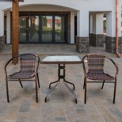 Комплект мебели для балкона из искусственного ротанга Асоль-2В