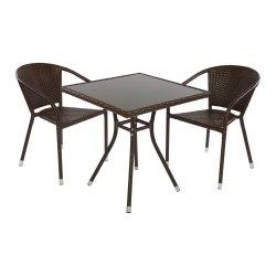 Комплект кофейный Cafe (2 кресла, стол)