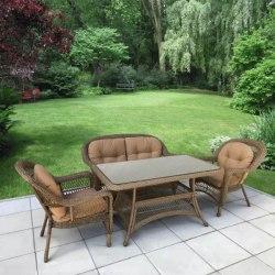 Комплект плетеной мебели T130Bg/LV520BB-Beige_Beige
