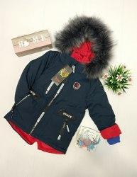 Куртка зимняя на мальчика модель - 112KZ11