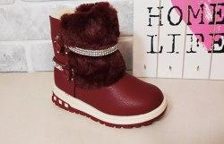Сапожки на девочку зима модель - 23SA21
