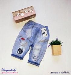Шорты джинсовые на мальчика модель - 416SG11