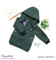 Куртка деми на мальчика модель - 487KZ11