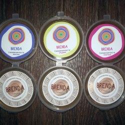 Набор пробников пасты для шугаринга Brenda 6 шт по 50 гр