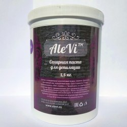 Паста для шугаринга Black Alevi Soft (Мягкая) 1500 гр