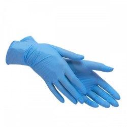 Перчатки нитриловые Синие XS 100 шт 50 пар