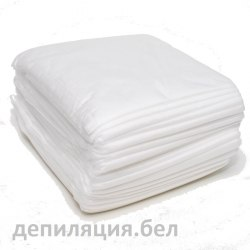 Простыни одноразовые Белые SMS 50 шт 80x200