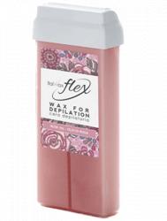 """Воск для депиляции Flex ItalWax """"Кремовая роза"""" 100 гр."""