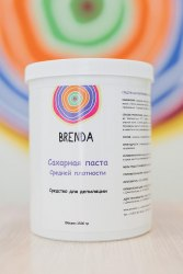 Паста для шугаринга Brenda Средняя 1500 гр.