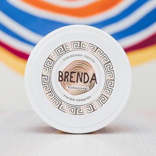 Паста для шугаринга Brenda Professional Ультра средняя 500 гр.