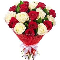 """Букет роз """"Кристи"""" 21 роза"""