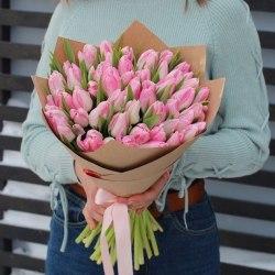 """Букет тюльпанов """"Розовый стиль"""""""
