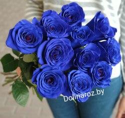 """Букет роз """"Синева"""" 11 роз"""