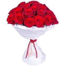 """Букет роз """"Стильный"""" 25 роз"""