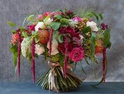 """Букет цветов """"Джунгли"""""""